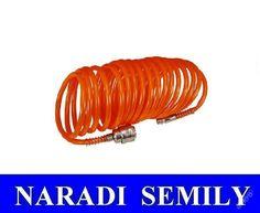 Hadice vzduchová spirálová 5 m včetně rychlospojek