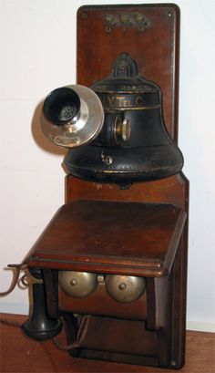 Model: Bell-shaped collector  Made by: Gray Telephone Pay Station Co.  From: 1890s  Courtesy of: Hal Galvin