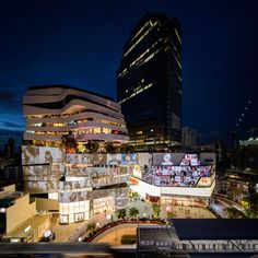 EMQuartier Shopping Center - don't miss the Helix food court there.