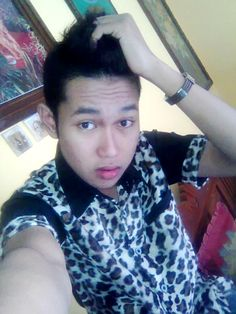 with leopard :D #style #menstyle #clothes #leopard
