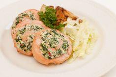 Salmon Pinwheel - Florentine