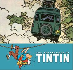 Now here's Tintin!! He knew what was the best vehicle for his adventures!
