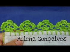 This Pin was discovered by jos Learn to Crochet – Crochet Wave Fan Edging. Crochet Edging Patterns, Dishcloth Knitting Patterns, Crochet Lace Edging, Knit Dishcloth, Crochet Borders, Crochet Trim, Crochet Designs, Crochet Stitches, Crochet Cord