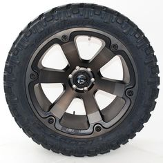Fuel Offroad Beast Black Machined Dark Tint Wheels with Nitto Trail Grappler MT Tires Tacoma Wheels, Jeep Wheels, Mustang Wheels, Tacoma Truck, Off Road Wheels, Motorcycle Wheels, Truck Wheels, Rims And Tires, Wheels And Tires