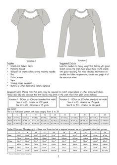 Bronte Knit Top Ladies PDF Sewing Pattern Multi by Jenniferlauren