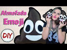 Almofada Cocôzinho Feliz - Emoji WhatsApp - DIY por Coisas de Jessika - YouTube
