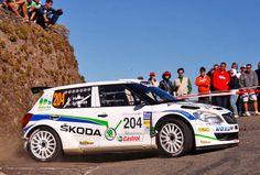 Alberto Hevia en el Rally Internacional Cantabria