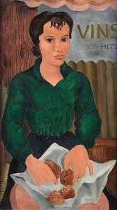 Girl with Cakes - Christopher Wood - The Athenaeum