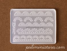 Pearl Lace Mold - Silicone Lace Mold-pearl lace mold, silicone lace mold