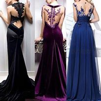 robes velours chic