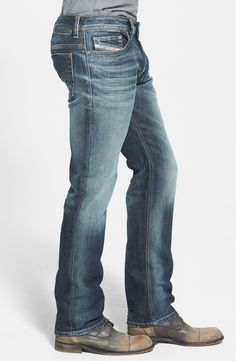 Straight Leg Sand Colored Denim Size 28-42 Men Eagle blue jeans Basic Classic