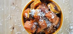 Coconut Roasted Root Vegetables