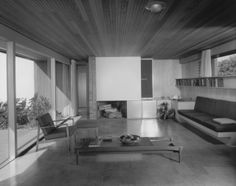 Richard Neutra – photo,Architecture,interior,american,Richard Neutra,Julius Shulman  Pinned by www.modlar.com