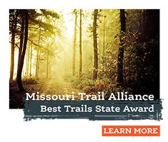 Learn about thousands of miles of Missouri trails… All In one place. #VisitMO