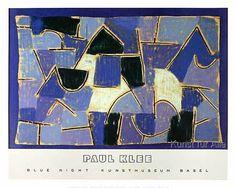 Paul Klee - Blaue Nacht
