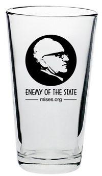 HAHA!! I'd love this!  Brew Pub Glass - Rothbard