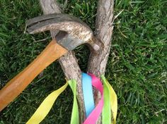 Make your own Maypole for dancing around.