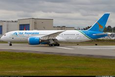 Boeing 787-8 Dreamliner - Air Tanzania   Aviation Photo #5069861   Airliners.net