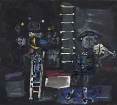 Antoni Clavé: Abstracción y Escuela de París – Trianarts Armin, Printmaking, Kitty, Fine Art, Painting, Spanish, Graphics, Art Museum, Children's Comics