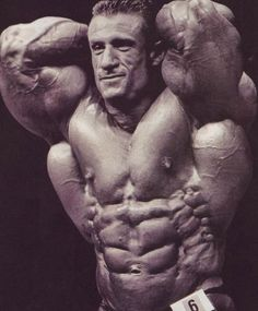 The 2nd greatest bodybuilder of all time....... Dorian Yates - who changed bodybuilding forever with his never before seen mass in the early to mid 90's to take 6 Olympia titles and make known the greatest back in the history of bodybuilding.