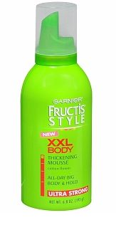 Garnier Fructis Style Thickening Mousse, Only $1.00 at Walmart!