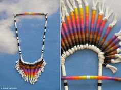 Necklace perler beads by Christy Curcuru - Growing
