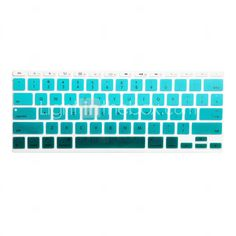 turquoise keyboard cover