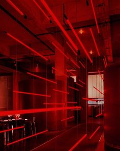 neon red aesthetic discovered by catalina on We Heart It Red Aesthetic Grunge, Aesthetic Colors, Aesthetic Photo, Aesthetic Pictures, Red Architecture, I See Red, Rainbow Aesthetic, Red Wallpaper, Red Rooms