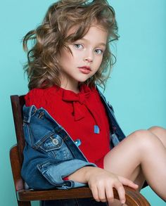 Young Models, Child Models, S Models, Cute Kids Fashion, Toddler Fashion, Anna Pavaga, Kids Z, Trendy Kids, Russian Models