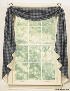 hooks instead of a curtain rod... i like this and then light filtering blinds for privacy!