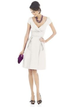 Alfred Sung D502 Bridesmaid Dress   Weddington Way