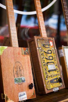 Bluesboy Jag's Cigar Box Guitar | Bluesboy Jag | Bourbon & Boots #cigarboxguitars
