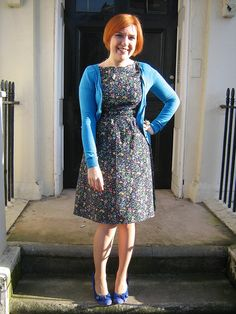 My Colette Patterns Peony dress