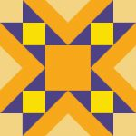 he quilt pattern is a three-color variation of the nine perch Jacob's Ladder quilt. Its origin is in Virginia and New England. The pattern resembles a brick path.