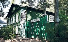 Staraya Russa, the only home Dostoevsky ever owned. One of the homes of great Russian writers.