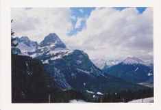 Fotopostkarte-Alpen-Panorama