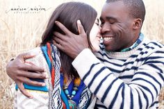 Interracial Engagement Photos  {Nyambe + Katie} Chester County, PA Engagement Photographer » Andrea Warden