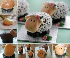 Des mini gâteaux en forme de mouton • Quebec echantillons gratuits