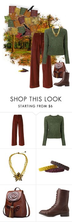 """""""Happy Fall Y'All!"""" by alara-cary on Polyvore featuring Erika Cavallini Semi-Couture, Étoile Isabel Marant, NOVICA and Charlotte Russe"""