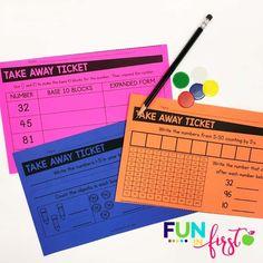 First Grade Math Curriculum Small Group Activities, Math Activities, 1st Grade Math, First Grade, Second Grade, Math Classroom, Future Classroom, Summer Lesson, Teaching Math