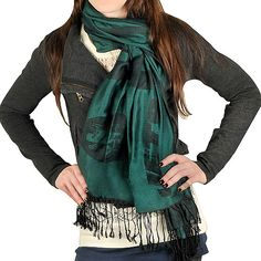 Team Beans New York Jets NFL Pashmina Scarf