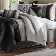 Madison Park Infinity 7-piece Comforter Set | Overstock.com Shopping - The Best Deals on Comforter Sets