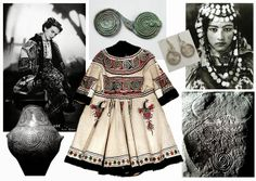 Semne Cusute: double spiral: what women want / ce-si doresc femeile What Women Want, Second Skin, Spiral, Two By Two, Kimono Top, Costumes, Clothes, Folk, Traditional