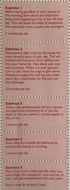 Five Daily Exercises That Build Strong Marriages / Intimate Relationships. Get the best tips and how to have strong marriage/relationship here: Saving A Marriage, Marriage Relationship, Marriage And Family, Happy Marriage, Marriage Advice, Love And Marriage, Failing Marriage, Relationship Building, Strong Marriage Quotes