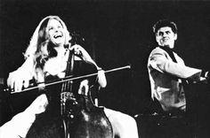 Jacqueline Du Pré and Daniel Barenboim (Photo: Reg Wilson)