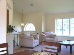 Photo Of Living Room Of Split Foyer Remodel White