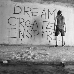 In life we are given a blank canvas...what are you going to put on yours ?  Link in description.  #DreamCreateInspire
