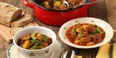Egy finom Kelkáposztás gulyás vacsorára, vagy ebédre? Igazi magyaros finomság! Beef, Food, Meat, Essen, Ox, Ground Beef, Yemek, Steak, Meals