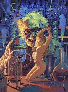 Mad Science - Photo Print - Large, Greg Hildebrandt