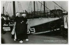 Tweede haven aan de zijde van de Dr. Lelykade. ca 1958 Pronco, Amsterdam #ZuidHolland #Scheveningen